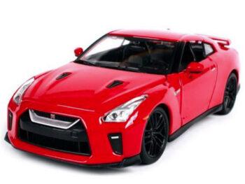 BBurago 18-21082 2017 Nissan Skyline GT-R R35 1:24 Red