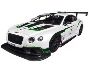Bburago 18-28008 Bentley Continental GT3 1:24 #7 White
