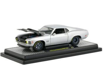 M2 40300 71 B 1970 Ford Mustang Boss 429 1:24 Matte Silver