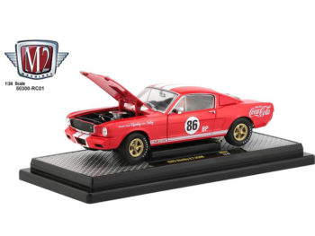M2 Machines 50300 RC01 Coca Cola Coke 1965 Shelby GT 350 R 1:24 Red