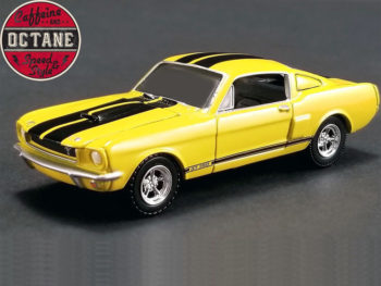 Acme 51249 Caffeine and Octane Series 1 1966 Shelby GT 350 1:64 Yellow