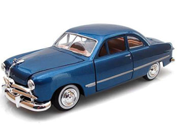 Motormax 73213 1949 Ford Coupe 1:24 Blue