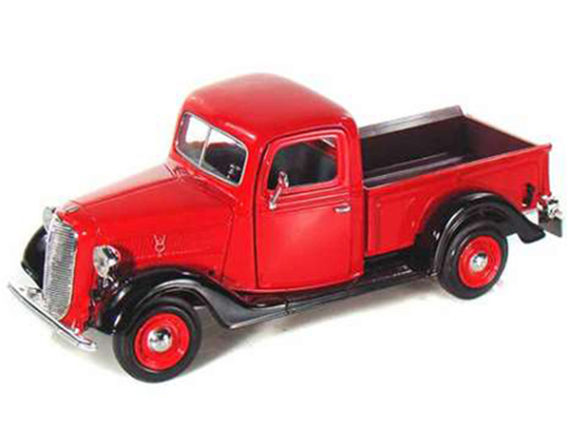 Motormax 73233 1937 Ford Pick Up Truck 1:24 Red