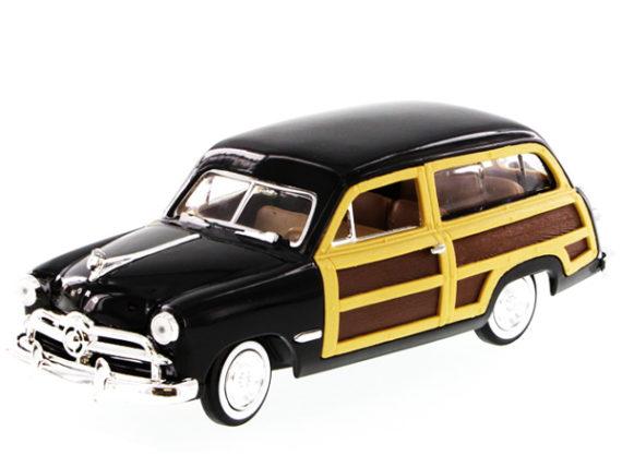 Motormax 73260 1949 Ford Woody Wagon 1:24 Black