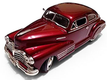 Motormax 73266 1948 Chevy Aersedan Fleetline 1:24 Dark Red