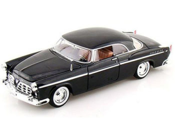 Motormax 73302 1955 Chrysler C 300 1:24 Black