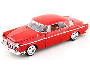 Motormax 73302 1955 Chrysler C 300 1:24 Red