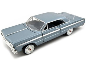 Motormax 73259 1964 Chevrolet Impala 1:24 Light Blue