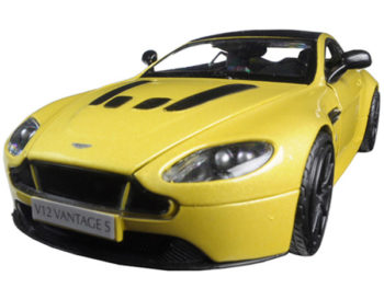 Motormax 79322 Aston Martin Vantage S V12 1:24 Yellow