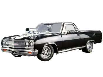 Acme A1805409 Drag Outlaw 1965 Chevrolet El Camino Pick Up Truck 1:18 Black