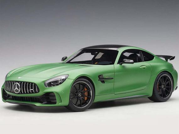 AUTOart 76333 Mercedes Benz Amg GT R 1:18 Green Hell Magno / Matt Metallic Green