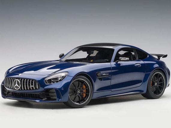 AUTOart 76334 Mercedes Benz Amg GT R 1:18 Brilliant Blue Metallic