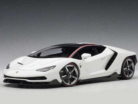 AUTOart 79111 Lamborghini Centenario 1:18 Bianco Isis / Solid White