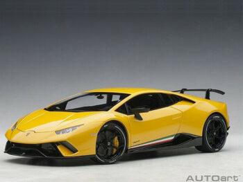 AUTOart 79155 Lamborghini Huracan Performante 1:18 Giallo Inti / Pearl Yellow