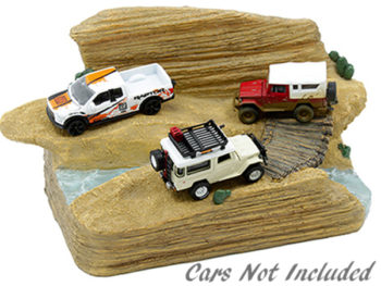 American Diorama AD-38431 Trail Challenge Diorama For 1:64 Model Car