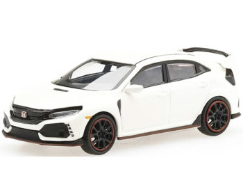Mini GT MGT00001 Honda Civic Type R FK8 LHD 1:64 Champion White