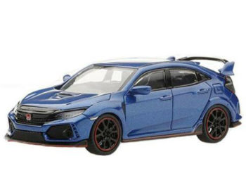 Mini GT MGT00002 Honda Civic Type R FK8 LHD 1:64 Blue