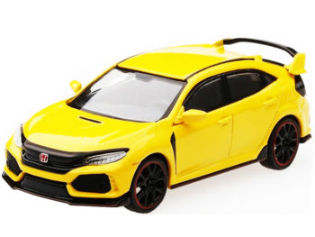 Mini GT MGT00008 2017 Honda Civic Type R FK8 LHD 1:64 Phoenix Yellow