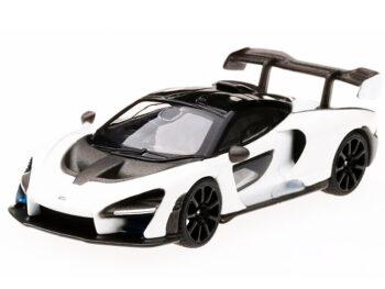 Mini GT MGT00019 McLaren Senna 1:64 White