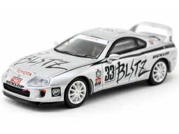 Tarmac Works T64-011-BZ Toyota Supra Japan N1 Endurance Series 1994 1:64 Silver
