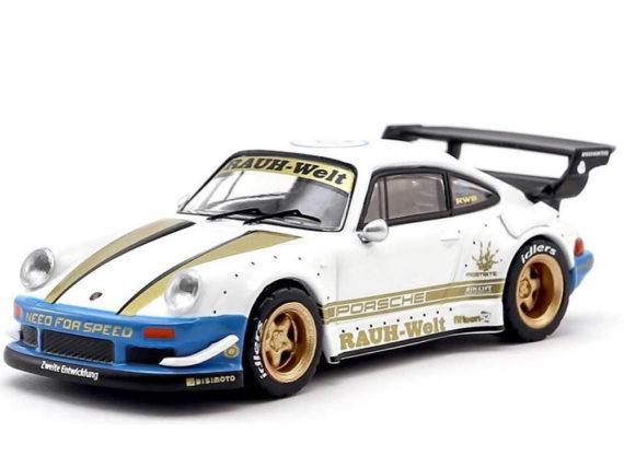 Tarmac Works T64-015-WB Porsche RWB 930 Need For Speed 1:64 White