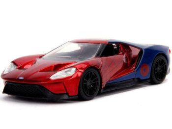 Jada 30291 Hollywood Ride Marvel 2017 Ford GT 1:32 Spider Man