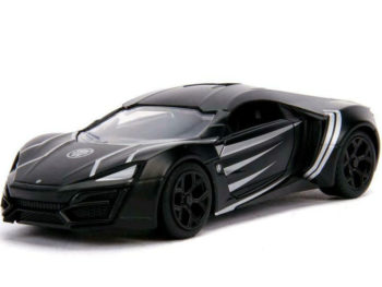Jada 30302 Hollywood Ride Avengers Lykan Hypersport 1:32 Black Panther