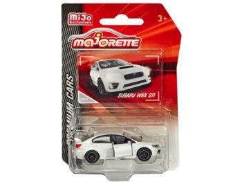 Majorette 3052 MJ1 Premium Cars Subaru WRX STI 1:64 White
