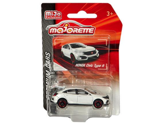 Majorette 3052 MJ9 Premium Cars Honda Civic Type R 1:64 White