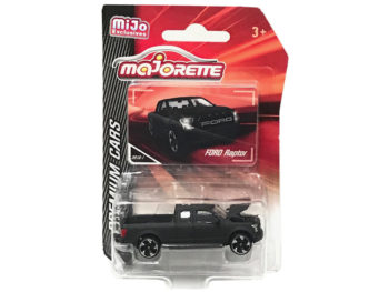Majorette 3052 MJ Premium Cars Ford Raptor F-150 Pick Up Truck 1:64 Matte Black