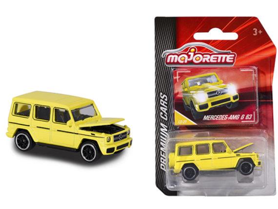 Majorette 3052 Q04 Premium Cars Mercedes Benz AMG G 63 1:64 Yellow