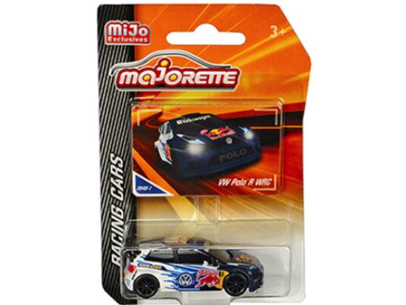 Majorette 4009 MJ2 Racing Cars Volkswagen Polo R WRC 1:64 Red Bull White /Blue