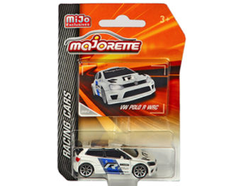 Majorette 4009 MJ3 Racing Cars Volkswagen Polo R WRC 1:64 White