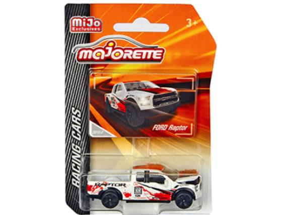 Majorette 4009 MJ6 Racing Cars Ford Raptor Pick Up Truck 1:64 White