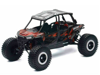 New Ray 57976 A Off Road Polaris RZR XP 4 Turbo EPS 1:18 Black Red