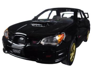 Motormax 73330 Subaru Impreza WRX STi 1:24 Black