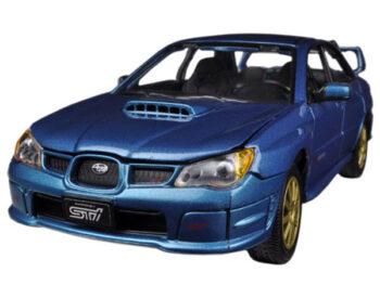Motormax 73330 Subaru Impreza WRX STi 1:24 Blue