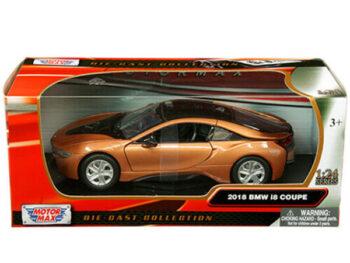 Motormax 79359 2018 Bmw i8 Coupe 1:24 Metallic Orange