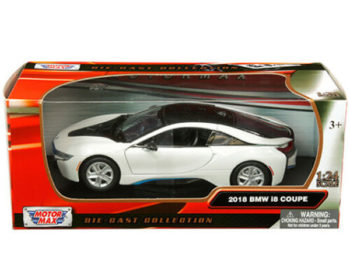 Motormax 79359 2018 Bmw i8 Coupe 1:24 White