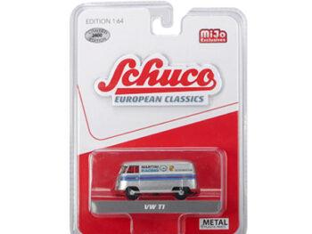 Schuco 8400 European Classics Volkswagen T1 Van Martini Racing 1:64 Silver