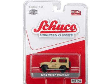 Schuco 8500 European Classics Land Rover Defender 90 Camel 1:64 Beige