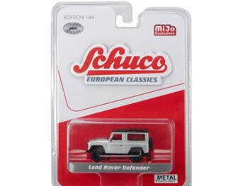 Schuco 8600 European Classics Land Rover Defender 90 1:64 Silver
