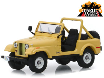 Greenlight 86333 Hollywood Charlie's Angels Julie Rogers' 1980 Jeep CJ-5 1:43 Beige