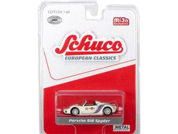 Schuco 8700 European Classics Porsche 918 Spyder #22 Martini Racing 1:64 White
