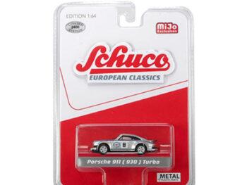 Schuco 8800 European Classics Porsche 911 930 Martini Racing 1:64 Silver
