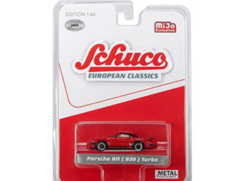 Schuco 8900 European Classics Porsche 911 930 Turbo 1:64 Red