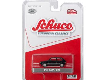 Schuco 9100 European Classics Volkswagen Golf I GTi 1:64 Black