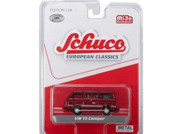 Schuco 9200 European Classics Volkswagen T3 Camper 1:64 Red
