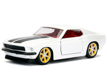 Jada 99517 Fast & Furious Roman's Ford Mustang 1:32 White