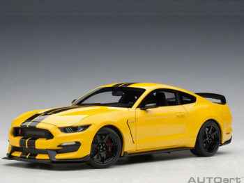 AUTOart 72932 Ford Shelby GT-350 R 1:18 Triple Yellow with Black Stripes